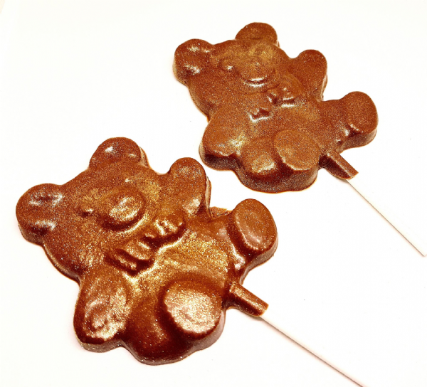 Chocolate Teddy Lolly